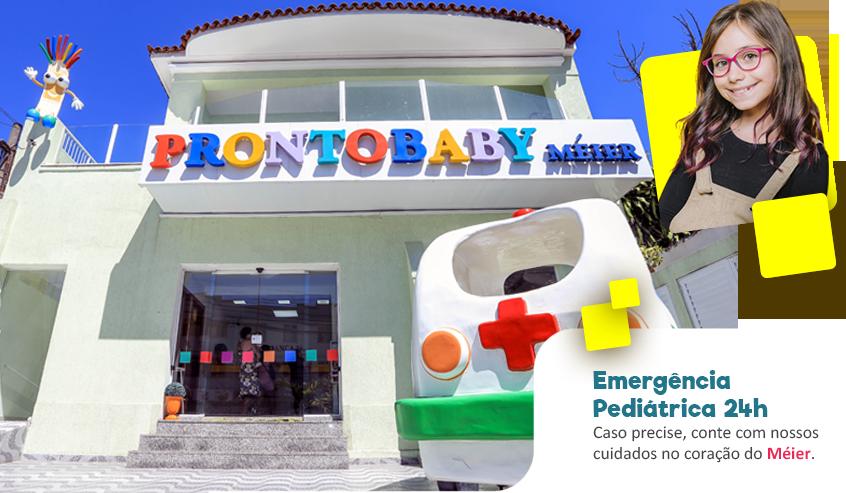 Emergência pediátrica 24 horas. Caso precise, conte com nossos cuidados no coração do Méier.